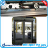 Portão de vidro deslizante de abertura dupla Automatc