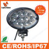 Diodo emissor de luz Work Light do CREE 27W do diodo emissor de luz Lamp Ellipse Flood de Lml-0427 High Lumen Spot 6 '' Oval
