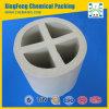 Chemische Verpackungs-keramischer Querpartition-Ring für Trockner, Kühlturm