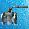 150lb moldou o tipo válvula da luva do aço inoxidável CF8 de plugue da flange