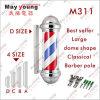 Signe tournant de Pôle de coiffeur de RoHS de la CE extérieure d'approvisionnement d'usine du best-seller