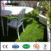 美の屋外の庭のための自然な緑の人工的な草ヤーン