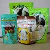 Sacco di plastica dell'alimento per animali domestici di stampa della chiusura lampo in piedi