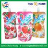 Flüssiger Fastfood- Tülle-Plastikbeutel für Fruchtsaft-verpackenbeutel