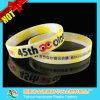 Tinta quente Wristband enchido do silicone de Debossed com Thb-041