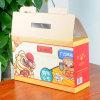 Boîte de papier de carton d'impression excentrée pour la nourriture d'emballage