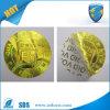 Anti-Counterfeit Gouden Nietige Sticker van het Hologram