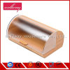 Compartimiento de pan con el rectángulo de bambú y la tapa de acrílico con estilo