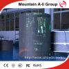 Afficheur LED P10 extérieur rond de publicité polychrome de prix usine