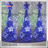 Het Licht van de blauwe Kunstmatige Openlucht LEIDENE van pvc Decoratie van de Kerstboom