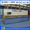 Máquina de corte hidráulica da placa de aço do CNC de QC12y