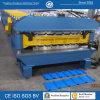 Het hydraulische automatisch Gegalvaniseerde GolfBroodje dat van de Laag van het Dakwerk Dubbele Machine vormt