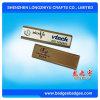 会社のロゴのステンレス鋼の再使用可能なスタッフの名札