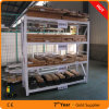 Puder-Mantel-Metallracking, langes Überspannungs-Speicher-Racking,