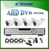 4CH kabeltelevisie Ahd DVR Kits HD Camera System, (-8604MLS44RN)