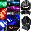 6en1 36X18W RGBWA + UV Lavar Enfocar Haz LED Luz Principal Móvil