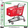 180 [ليتر] بلاستيكيّة تسوق حامل متحرّك عربة مع سابكة جيّدة