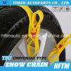 O tipo universal neve golpeia correntes de neve das peças do carro