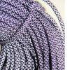 明確なプラスチック先端の編みこみの円形の靴レース