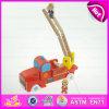 Hölzerner Spielzeug-Förderwagen des heißesten Baby-2016, Form-Kind-hölzerner Spielzeug-Förderwagen, Qualitäts-Kind-hölzerner Spielzeug-Förderwagen W04A185