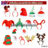 Produto acessório do Natal do Headband do chapéu do Xmas da rena de Santa do Natal (CH8013)
