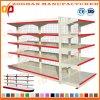 Kundenspezifisches Doppeltes versah Maschendraht-Regal-Ausstellungsstand mit Seiten (Zhs135)