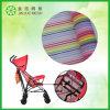 Tela de tapicería de nylon del acoplamiento de la raya para los bolsos y el coche de bebé