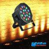Luce PAR piana PAR piana sottile di PARITÀ 64 della luce 18X1w LED di DMX RGB