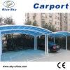 Carport prefabbricato popolare dell'alluminio di parcheggio dell'automobile
