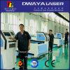 Machine de gravure en bois de découpage de laser de CO2 de commande numérique par ordinateur d'acrylique de forces de défense principale
