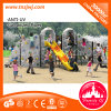 Outdoor passionnant Adventure Activities Kids Climbing Frames avec Slide