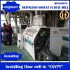 Máquina do moinho de farinha da fábrica de moagem de milho do milho do trigo