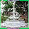 Fontaine d'eau extérieure de marbre blanche de nouvelle conception
