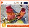 Померанцовые перчатки PVC с акриловыми перчатками Dpv113 вкладыша горжетки