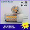 4 세륨 & RoHS를 가진 와트 12VAC/VDC 4W G4 Bipin LED 전구