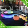 테이블과 의자를 가진 재충전 전지 그리고 원격 제어 LED 바 세트