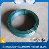 Fil enduit de fer de PVC pour la frontière de sécurité de maillon de chaîne