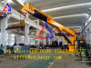 3t / 8m Hydraulic Telescoping and Folding Arm Knuckle Marine Crane