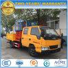 double camion de ciseaux d'exécution d'haute altitude de cabine de 8-10m Jmc