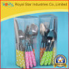 Insieme all'ingrosso della coltelleria dell'acciaio inossidabile 16PCS con la maniglia di plastica (RYST0213C)