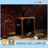 Kundenspezifischer Möbel-Leder-Wohnzimmer-Seiten-Tisch