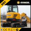 Escavatore di marca di Sany di 7.5 tonnellate piccolo (SY75C)