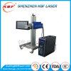 Máquina material de la marca del laser del vuelo del OEM del metal en línea de la escritura de la etiqueta