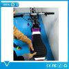 Scooter électrique du pliage 2017 pourpré avec du '' le vélomoteur électrique gros pneu 10