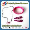 Filles en gros jouet réglé en plastique de collier et de bracelet pour des gosses