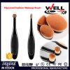 Spazzola cosmetica ovale professionale della spazzola comoda molle densa di trucco dei capelli umani