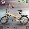 En15194 que dobra a bicicleta elétrica com bateria de lítio