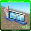 LEDによってバックライトを当てられるライトボックスを広告するYeroo