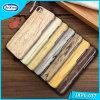 Самое новое деревянное вспомогательное оборудование мобильного телефона картины для крышки случая PU iPhone 7 аргументы за iPhone кожаный