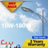 iluminación al aire libre del poste 40W 3500k LED de la lámpara de los 8m